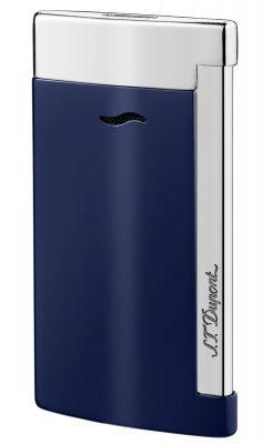 S.T. Dupont 27709 Feuerzeug Slim 7 Bleu & Chrome