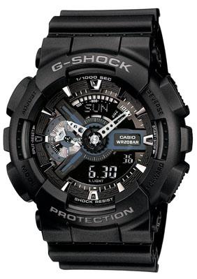Casio GA-110-1BER G-Shock Chronograph