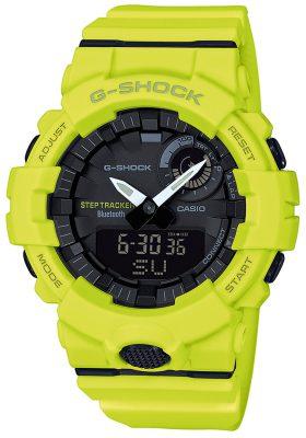 Casio GBA-800-9AER G-Shock Bluetooth Armbanduhr mit Schrittzähler