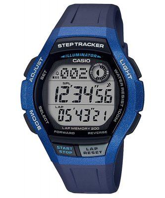 Casio WS-2000H-2AVEF Digitale Herren-Armbanduhr mit Schrittzähler