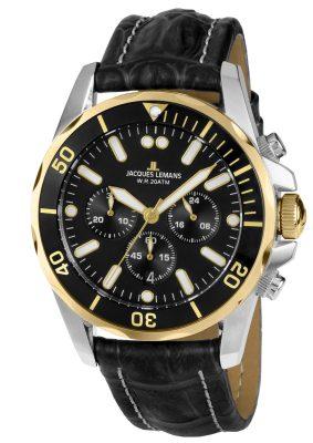 Jacques Lemans 1-1907ZD Herren-Chronograph Liverpool Diver
