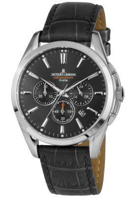 Jacques Lemans 1-1945A Herrenuhr Chronograph Derby