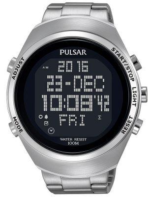 Pulsar PQ2055X1 Herrenuhr Digital-Chronograph Pulsar X