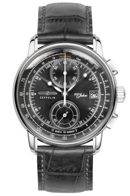 Zeppelin 8670-2 Herrenuhr Chronograph 100 Jahre Zeppelin Ed. 1