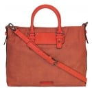 Esprit L15073 Lona Citybag Handtasche Koralle