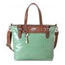 Fossil ZB5127 Key Per Tote Ladies Bag Sea-Green