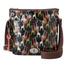 Fossil ZB5229 Vintage Key-Per Ladies Bag Black Multi