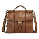 Fossil ZB5409 Vintage Revival Handbag Pecan