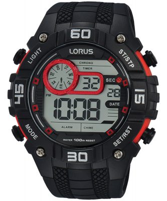Lorus R2355LX9 Herrenuhr Digital-Chronograph