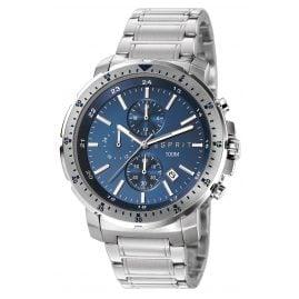 Esprit ES107521003 Nathan Chrono Silver Blue Herrenuhr