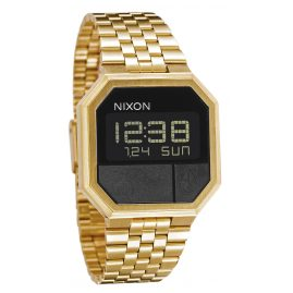 Nixon A158 502 Re-Run All Gold Digitaluhr