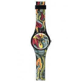 Swatch SUOZ151 Fired Snake Herrenuhr