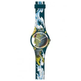 Swatch SUOZ152 Waved Koi Herrenuhr