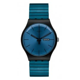 Swatch SUOB707B Blue Resolution Small Watch