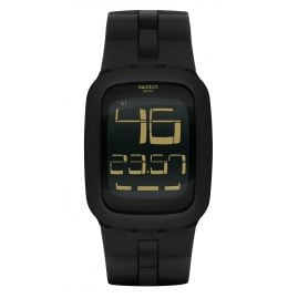 Swatch SURB112 Swatch Touch Black Bump Digital Watch