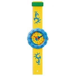 Flik Flak FPSP001 Pres-Cool Boy in Yellow Kinderuhr