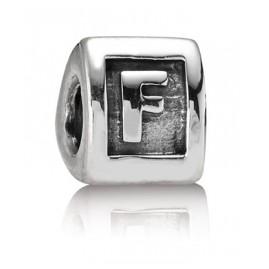 Pandora 790323F Buchstabe F Silber-Charm