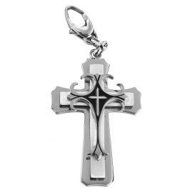 Survive 751242 Herren Kreuz-Anhänger