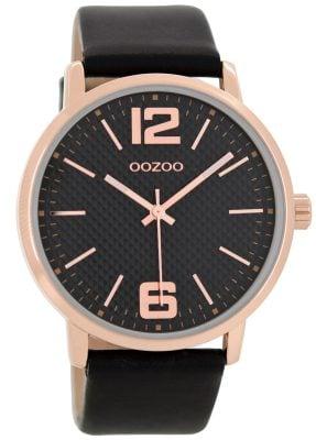 Oozoo C8509 Damenuhr Schwarz