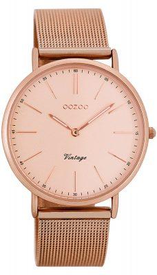 Oozoo C7399 Vintage Damen-Armbanduhr Rosé 36 mm