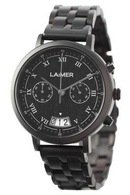 Laimer 0079 Holzuhr Herren-Chronograph Lucio