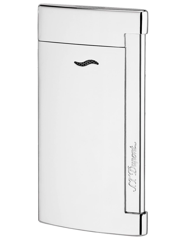 S.T. Dupont 027713 Feuerzeug Slim 7 Gris Chrome