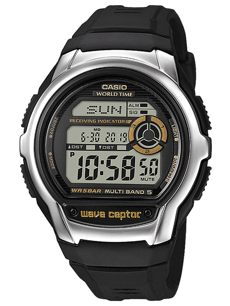 Uhrcenter.de Casio WV-M60-9AER Wave Ceptor Funk-Armbanduhr