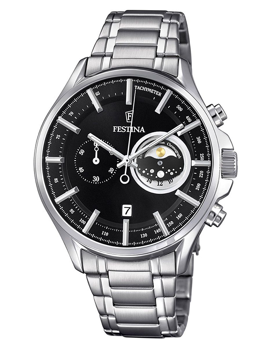 Festina F6852/3 Retrograde Chronograph Herren-Armbanduhr