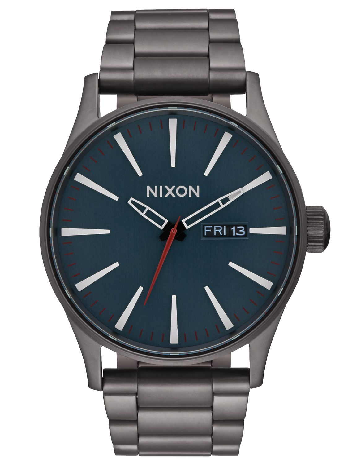 Nixon A356 2340 Sentry SS All Gunmetal Herrenuhr