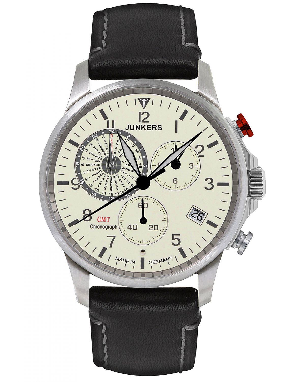 Junkers 6892-5 Worldtimer GMT Herren-Chronograph