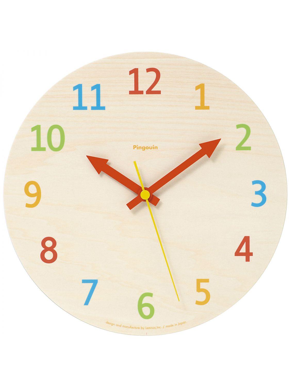 Uhrcenter.de  Lemnos PC08-16 Morning Palette Kinder Wanduhr