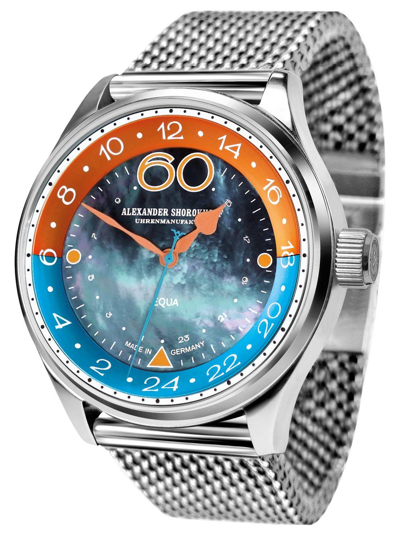 Alexander Shorokhoff AS.EQ01-4M Herrenuhr mit Mechanischem Uhrwerk Equa