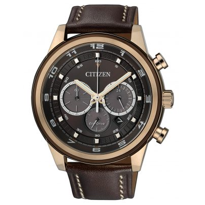 Citizen CA4037-01W Eco-Drive Chronograph Mens Watch