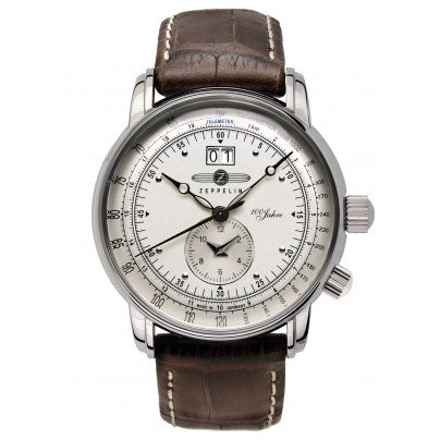 Zeppelin 7640-1 LZ-127 Dual Time Gents Watch