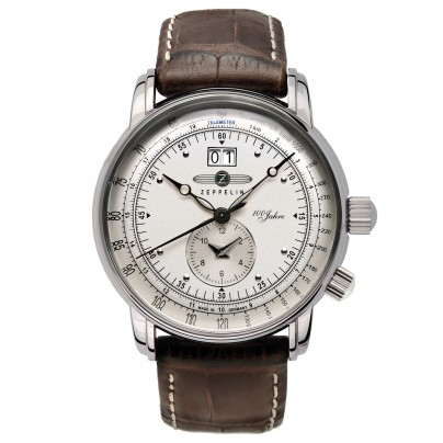 Zeppelin 7640-1 Dual Time Gents Watch