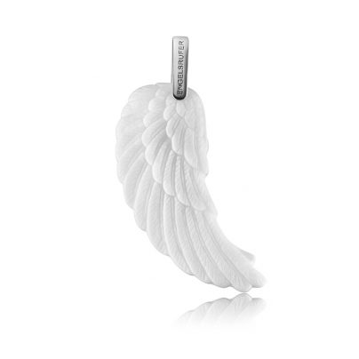 Engelsrufer ERW-L2-KW Flügel groß Keramik weiß