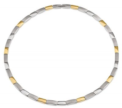 Boccia 08043-02 Damen-Halskette Titan Bicolor