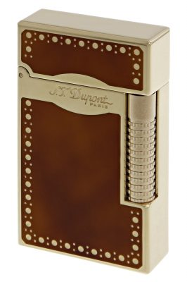 S.T. Dupont 023022 Feuerzeug Linie 2 Le Grand vergoldet