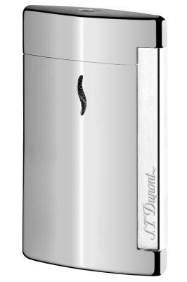 S.T. Dupont 010502 Minijet Feuerzeug Silber
