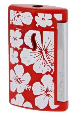 S.T. Dupont 010535 Feuerzeug Minijet Hawaii Torch-Flamme Rot