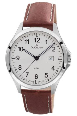 Dugena 4460990 Herren-Armbanduhr Boston 10 Bar Wasserdicht
