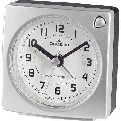 Dugena 4460941 Funkwecker Silber Metallic