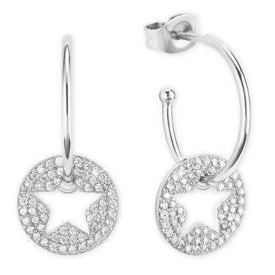 s.Oliver 2026090 Silber-Ohrringe mit Stern