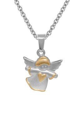 trendor 72795 Kinder-Anhänger Schwebender Engel an Halskette 925 Silber