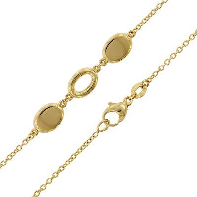 trendor 75669 Damen-Halskette Gold 585 (14 Karat) Fantasie