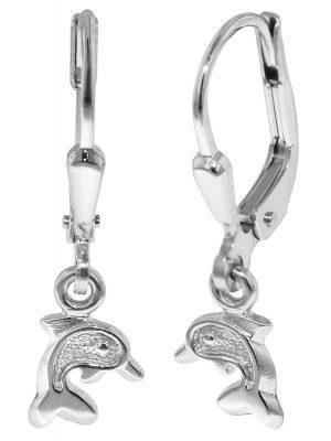 trendor 35827 Silber Kinderohrringe Delfin