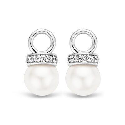 Ti Sento 9083PW Ohrring-Anhänger Weiße Perlen