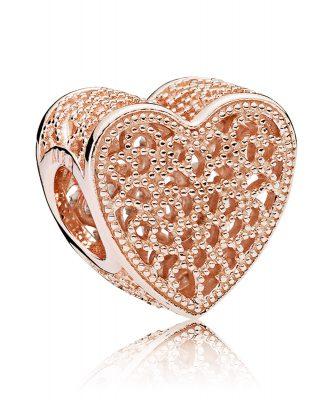 Pandora 781811 Charm Ewige Liebe Rosé