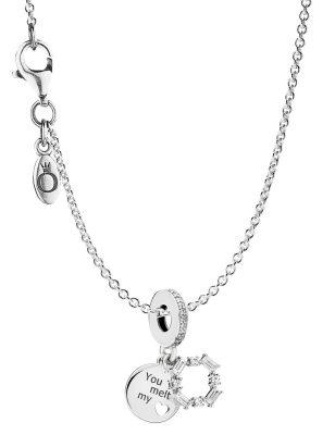 Pandora 08693 Halskette mit Charm Ice Carving