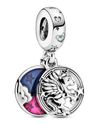 Pandora 799145C01 Silber Charm-Anhänger Magisches Einhorn